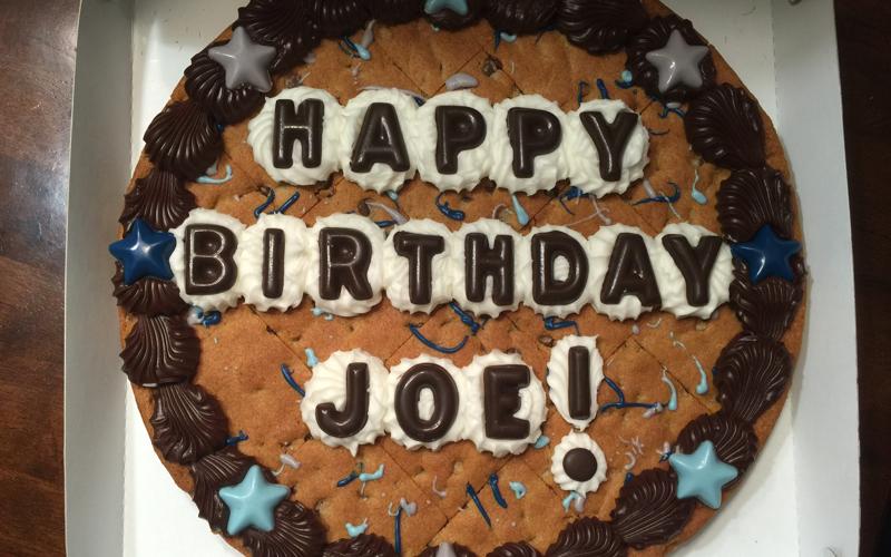 Cookie Cake - Birthday Alarms by Caake.com